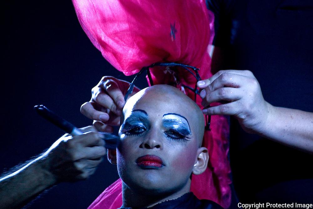 Nahivi Campbell Transforming at the Festival De La Diversisdad