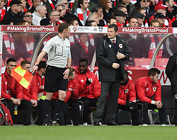 Bristol City manager Steve Cotterill on the side line at Ashton Gate for FA Cup fourth round tie against West Ham United - Photo mandatory by-line: Paul Knight/JMP - Mobile: 07966 386802 - 25/01/2015 - SPORT - Football - Bristol - Ashton Gate - Bristol City v West Ham United - FA Cup fourth round