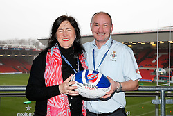 Heineken Lounge sponsor pictures - Mandatory byline: Rogan Thomson/JMP - 30/01/2016 - RUGBY UNION - Ashton Gate Stadium - Bristol, England - Bristol Rugby v Jersey - Greene King IPA Championship.
