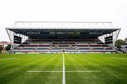 A General View of Welford road before the gates open - Photo mandatory by-line: Rogan Thomson/JMP - 07966 386802 - 06/09/2014 - SPORT - RUGBY UNION - Leicester, England - Welford Road Stadium - Leicester Tigers v Newcastle Falcons - Aviva Premiership.