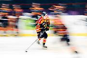 STOCKHOM 2017-10-27: Tom Nilsson i Djurg&aring;rdens IF inf&ouml;r matchen i SHL mellan Djurg&aring;rdens IF och Skellefte&aring; AIK p&aring; Hovet, Stockholm, den 27 oktober 2017.<br /> Foto: Nils Petter Nilsson/Ombrello<br /> ***BETALBILD***