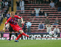 Photo: Lee Earle.<br /> Crystal Palace v Sheffield United. Coca Cola Championship. 22/09/2007. Ben Watson scores Palace's third goal from the penalty spot.