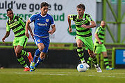 Forest Green Rovers Christian Doidge(9) runs forward during the Vanarama National League match between Forest Green Rovers and Guiseley  at the New Lawn, Forest Green, United Kingdom on 22 October 2016. Photo by Shane Healey.
