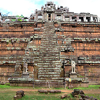 Phimeanakas at Angkor Thom in Angkor Archaeological Park, Cambodia<br />