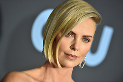 Charlize Theron attends the 24th annual Critics' Choice Awards at Barker Hangar on January 13, 2019 in Santa Monica, CA, USA. Photo by Lionel Hahn/ABACAPRESS.COM