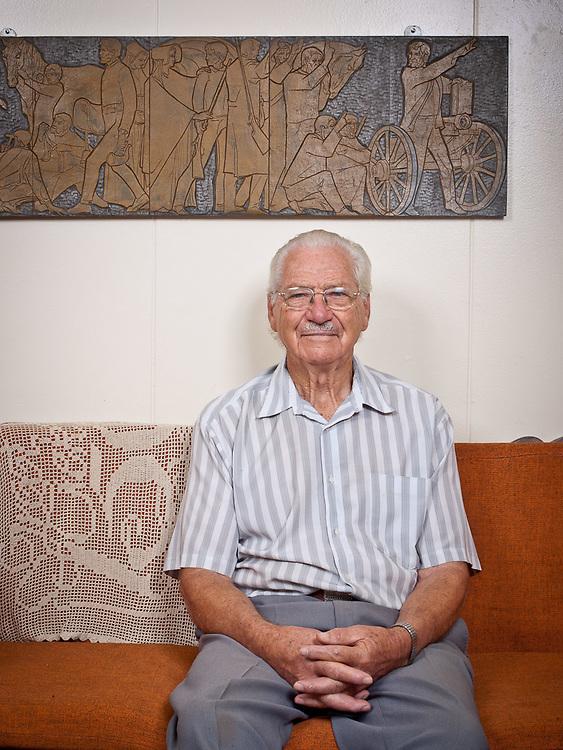Portrait Carel Willem Hendrik Boshoff in Orania, South Africa