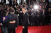 Christoph Waltz attends the 'Inside Llewyn Davis' Red Carpet during the 66th Annual Cannes Film Festival at the Palais des Festivals on May 19, 2013 in Cannes, France.