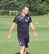 Dundee captain Kevin Thomson at Dundee pre-season training at GLOBALL Football Park, Budapest, Hungary<br /> <br />  - &copy; David Young - www.davidyoungphoto.co.uk - email: davidyoungphoto@gmail.com