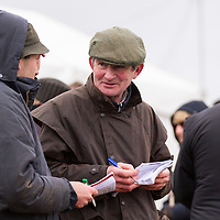 Louis Hassett from Newmarket-on-Fergus discusses the form during the East Clare Harriers 2015 Killaloe point to point