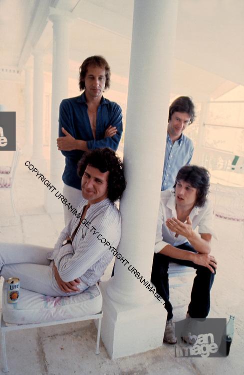 Dire Straits in Nassau bahamas recording Communiqué 1978