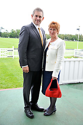 JOHN & SANDRA ANSON at Al Habtoor Royal Windsor Cup Final 2012 at Guards Polo Club, Berkshire on 24th June 2012.