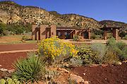 The Kolob Canyons visitor center, Zion National Park, Utah