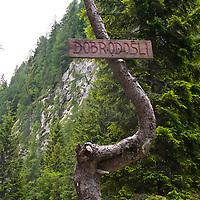 Triglav National Park, Trenta, Slovenia.