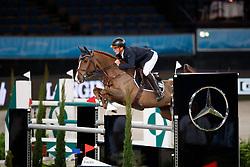 Meyer, Tobias (GER) Anna Jo<br /> Stuttgart - German Masters 2016<br /> © www.sportfotos-lafrentz.de