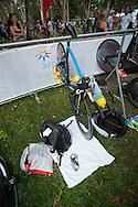 Brad Kahlefeldt (AUS), June 1, 2014 - TRIATHLON : Coral Coast 5150 Triathlon, Cairns Airport Adventure Festival, Four Mile Beach, Port Douglas, Queensland, Australia. Credit: Lucas Wroe