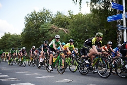 Eugenia Bujak (POL) and Chloe Hosking (AUS) in the bunch at Boels Ladies Tour 2018 - Stage 3, a 129km road race in Gennep, Netherlands on August 30, 2018. Photo by Sean Robinson/velofocus.com