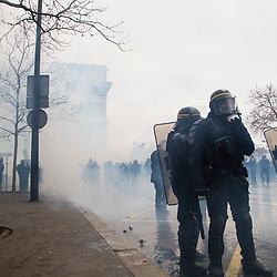 2019/01 Gilets Jaunes Paris Acte 09