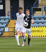 Inverness Caledonian Thistle&rsquo;s Danny Williams and Dundee's Jim McAlister  - Dundee v Inverness Caledonian Thistle - SPFL Premiership at Dens Park <br /> <br />  - &copy; David Young - www.davidyoungphoto.co.uk - email: davidyoungphoto@gmail.com