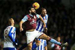 Mile Jedinak of Aston Villa heads the ball under pressure - Mandatory by-line: Jason Brown/JMP - 18/11/2016 - FOOTBALL - Amex Stadium - Brighton, England - Brighton & Hove Albion v Aston Villa - Sky Bet Championship