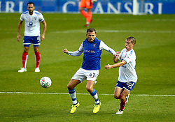Almen Abdi of Sheffield Wednesday holds off Louis Reed of Chesterfield - Mandatory by-line: Robbie Stephenson/JMP - 08/08/2017 - FOOTBALL - Hillsborough - Sheffield, England - Sheffield Wednesday v Chesterfield - Carabao Cup
