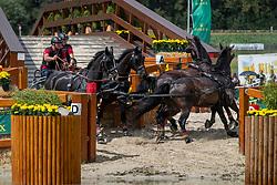 Brauchle Michael, GER, Carola 83, Concetta, Djamilo 6, Don 591<br /> CHIO Aachen 2019<br /> Weltfest des Pferdesports<br /> © Hippo Foto - Dirk Caremans<br /> Brauchle Michael, GER, Carola 83, Concetta, Djamilo 6, Don 591