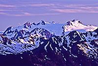 Mount Olympus as viewed from Hurrican Ridge, Olympic National Park. Washington, USA.