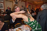 ANTHONY BAMFORD;ELIZABETH HURLEY, Graydon Carter hosts a diner for Tom Ford to celebrate the London premiere of ' A Single Man' Harry's Bar. South Audley St. London. 1 February 2010