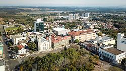 A Igreja Nossa Senhora dos Anjos e Colégio Dom Feliciano - Rede ICM, Gravataí.. Foto: Jefferson Bernardes/ Agência Preview