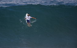 December 11, 2017 - Banzai Pipeline, HI, USA - BANZAI PIPELINE, HI - DECEMBER 11, 2017 - Kelly Slater of the United States paddles up the face of a wave in the first round of the Billabong Pipe Masters. (Credit Image: © Erich Schlegel via ZUMA Wire)
