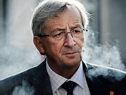 Jean-Claude Juncker, Luxembourg's prime minister, and president of the Eurogroup, speaks to the media following the Eurogroup meeting in Brussels, Thursday Sept. 30, 2010. (Photo © Jock Fistick)