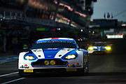 June 14-19, 2016: 24 hours of Le Mans. ASTON MARTIN RACING, ASTON MARTIN V8 VANTAGE, Andrew HOWARD, Liam GRIFFIN,Gary HIRSCH, LM GTE AM