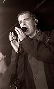 Neil Tennant, Pet Shop Boys performance, The Haçienda, Manchester, 1989