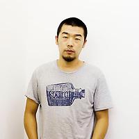BEIJING , AUG. 8,2012 : Zhao Zhao, Kuenstler und Protegee von Ai Weiwei, posiert fuer ein Portrait im Kuenstlerviertel Caochangdi. Zhao Zhao's gesamte Kunstwerke wurden im Maerz beschlagnahmt, bevor sie zu einer Einzelausstellung nach New York verfrachtet  werden konnten . Zhao ist es derzeit in China nicht gestattet, seine Werke in Ausstellungen zu zeigen .