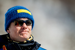 March 17, 2018 - Pyeongchang, SOUTH KOREA - 180317 Henrik Hjelmberg, press attachŽ of Sweden, after the men's 10 km visually impaired cross-country skiing during day eight of the 2018 Winter Paralympics on March 17, 2018 in Pyeongchang..Photo: Vegard Wivestad GrÂ¿tt / BILDBYRN / kod VG / 170134 (Credit Image: © Vegard Wivestad Gr¯Tt/Bildbyran via ZUMA Press)