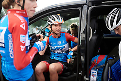 Erica Magnaldi (ITA) at Amgen Tour of California Women's Race empowered with SRAM 2019 - Stage 2, a 74 km road race from Ontario to Mount Baldy, United States on May 17, 2019. Photo by Sean Robinson/velofocus.com
