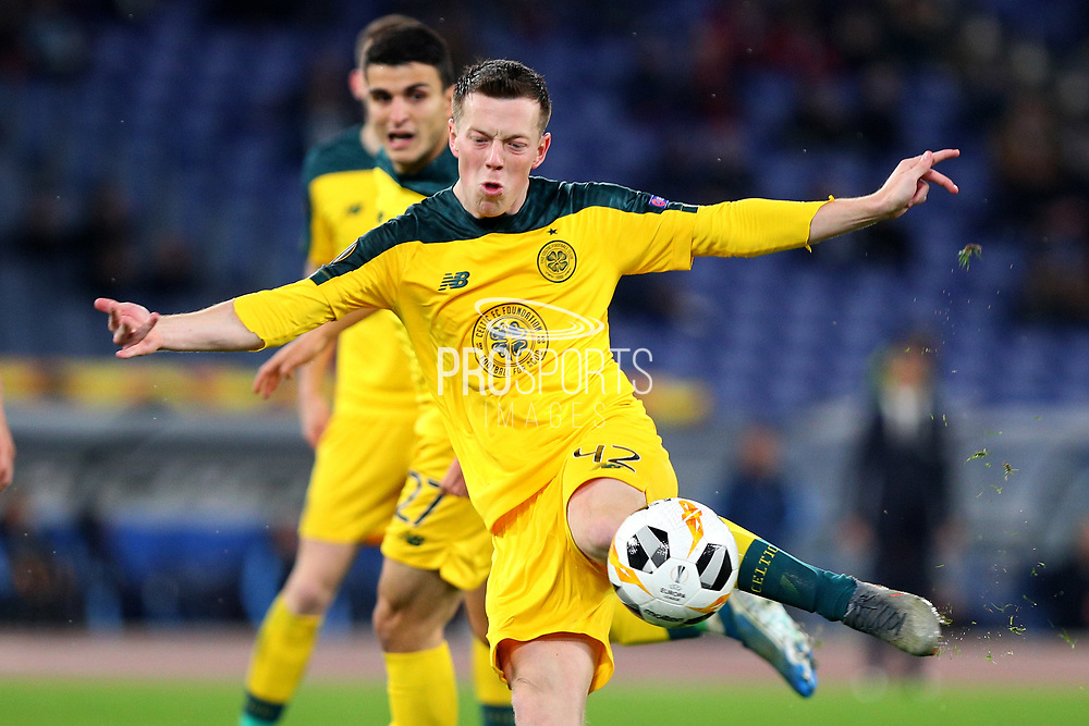 Callum Mc Gregor of Celtic in action during the UEFA Europa League, Group E football match between SS Lazio and Celtic FC on November 7, 2019 at Stadio Olimpico in Rome, Italy - Photo Federico Proietti / ProSportsImages / DPPI