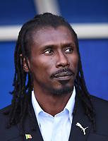 FUSSBALL WM 2018  Vorrunde  Gruppe H --- Polen - Senegal           19.06.2018 Trainer Aliou Cisse (Senegal)