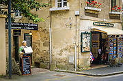 Shop in Bayeux, Normandy, France