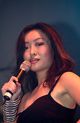 Leslie Loh supporting Liberty -X at Sheffield City Hall March 18 2003<br />