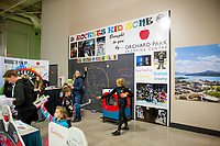 KELOWNA, CANADA - OCTOBER 27: The Rockets Kid Zone on October 27, 2017 at Prospera Place in Kelowna, British Columbia, Canada.  (Photo by Marissa Baecker/Shoot the Breeze)  *** Local Caption ***