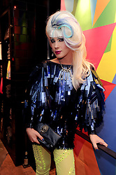 JODIE HARSH at a party to celebrate the Firetrap Watches and Kate Moross Collaboration Launch, held at Firetrap, 21 Earlham Street, London, UK on 13th October 2010.