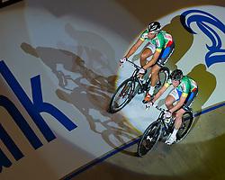 06-01-2012 WIELRENNEN: RABOBANK ZESDAAGSE: ROTTERDAM<br /> (L-R) Peter Schep, Wim Stroetinga<br /> (c)2012-FotoHoogendoorn.nl / Peter Schalk