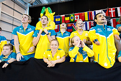 Team Australia Spectators AUS at 2015 IPC Swimming World Championships -