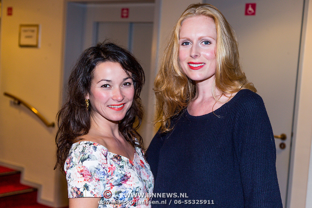 NLD/Leiden/20130930 - Premiere Garland, Birgit Schuurman en Jolanda van den Berg