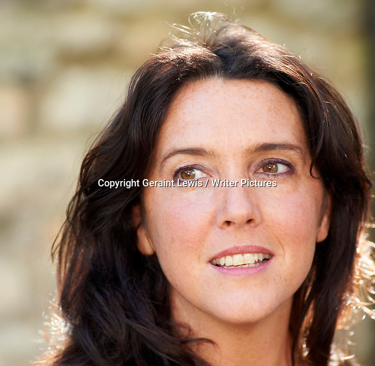 Bettany Hughes, writer, at the Woodstock Literary Festival, Woodstock, Oxfordshire, UK, September 18, 2010. <br /> <br /> Geraint Lewis / Writer Pictures<br /> Contact +44 (0)20 822 41564<br /> info@writerpictures.com<br /> www.writerpictures.com