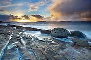 Coastal landscape near Elgol, Isle of Skye, Scotland, UK, November
