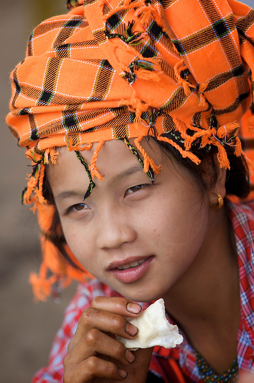 Pa O woman, Inle Lake, Myanmar