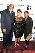 "November 2, 2012- New York, NY: (L-R) Earl ""Butch"" Graves, Jr, President & CEO, Black Enterprise Magazine, Linda Johnson Rice, Chair, Johnson Publishing Company and Gale King, EVP, Nationwide  at the Ebony Power 100 Gala Presented by Nationwide held at Jazz at Lincoln Center on November 2, 2012 in New York City. The EBONY Power 100 Gala Presented by Nationwide salutes the country's most influential African Americans. (Terrence Jennings)"