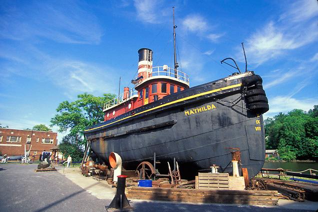 "Hudson River Maritime Museum ""The Mathilda"""
