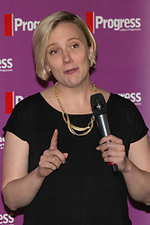 © Licensed to London News Pictures . 27/09/2015 . Brighton , UK . STELLA CREASY speaks at a Progress Rally fringe event at screen one of the Odeon Cinema on Brighton seafront , during the 2015 Labour Party Conference . Photo credit : Joel Goodman/LNP